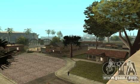 Grove Street 2013 v1 for GTA San Andreas