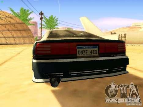 Toyota Supra for GTA San Andreas wheels