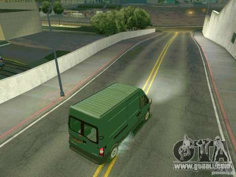 Renault Master for GTA San Andreas right view