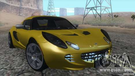 Lotus Elise for GTA San Andreas back view