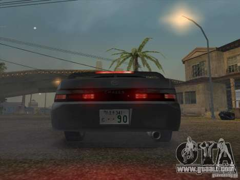 Toyota Chaser JZX90 Stock for GTA San Andreas back view