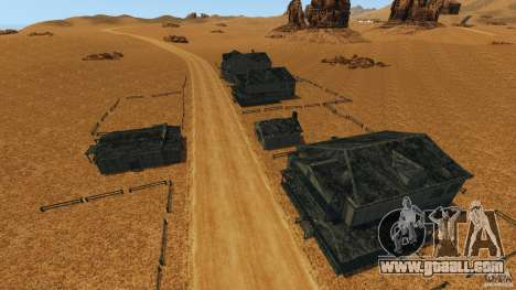 Red Dead Desert 2012 for GTA 4 seventh screenshot