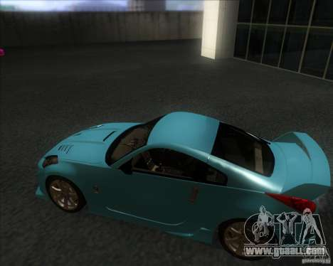 Nissan 350Z 2004 for GTA San Andreas back left view