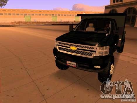 Chevrolet Silverado HD 3500 2012 for GTA San Andreas