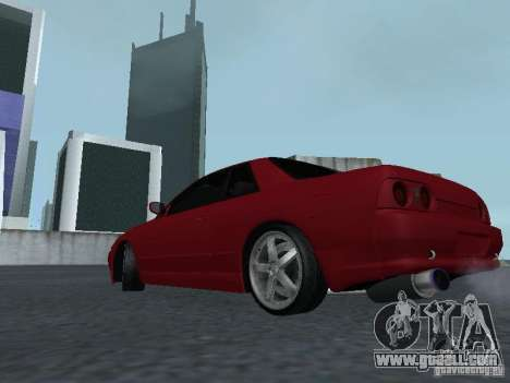 Nissan Skyline R32 Classic Drift for GTA San Andreas back left view