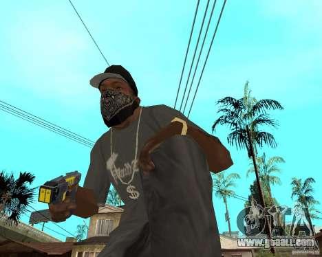Taser for GTA San Andreas second screenshot