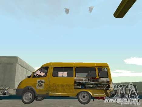 Gazelle Taxi for GTA San Andreas left view