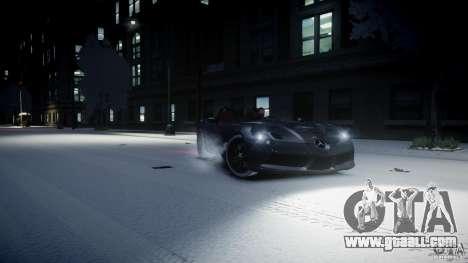 Mercedes Benz McLaren SLR Stirling Moss for GTA 4 left view