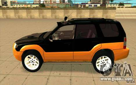 Subaru Forester Cross Sport 2005 for GTA San Andreas left view