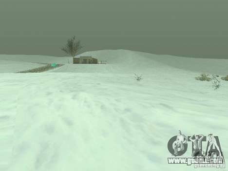 Frozen bone country for GTA San Andreas