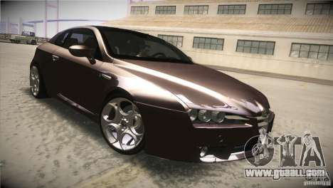 Alfa Romeo Brera Ti for GTA San Andreas inner view