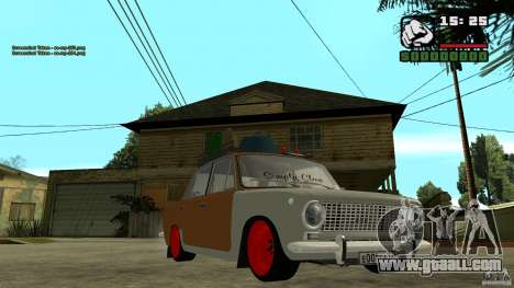 Lada 2101 OnlyDropped for GTA San Andreas back view