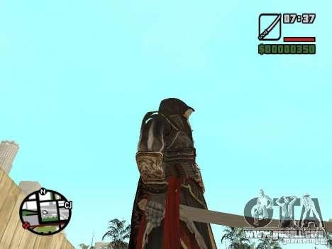 Sword Ezio for GTA San Andreas third screenshot