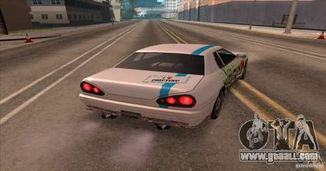 Paintjob for Elegy for GTA San Andreas back left view