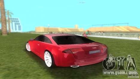 Audi Nuvolari Quattro for GTA Vice City left view