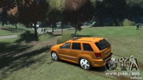 Jeep Grand Cherokee SRT8 for GTA 4 right view