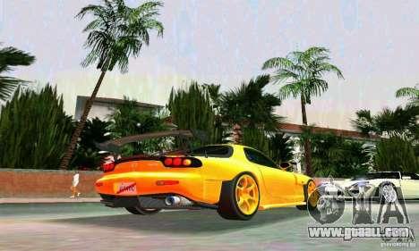 Mazda RX7 RE-Amemiya for GTA Vice City right view