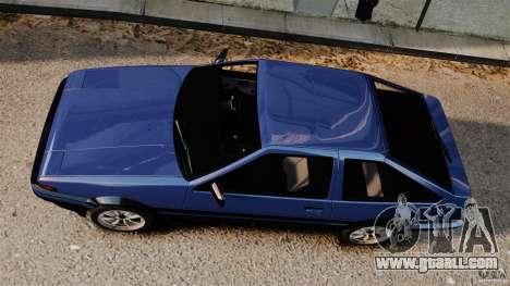 Toyota Sprinter Trueno GT 1985 Apex [EPM] for GTA 4 right view