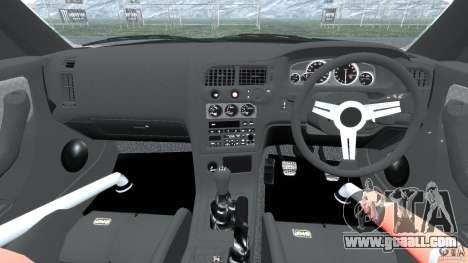 Nissan Skyline GT-R (R33) v1.0 for GTA 4 back view
