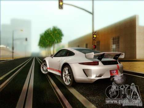 Porsche 911 Carrera S (991) Snowflake 2.0 for GTA San Andreas back left view