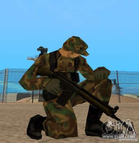 G3A3 Assault Rifle for GTA San Andreas third screenshot