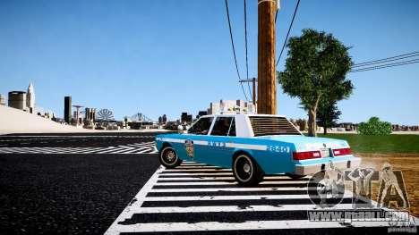 Dodge Diplomat 1983 Police v1.0 for GTA 4 right view