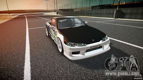 Nissan Silvia S15 Drift v1.1 for GTA 4 inner view