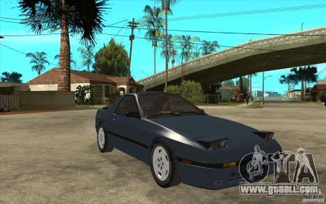 Mazda RX7 FC3S Stock for GTA San Andreas back view