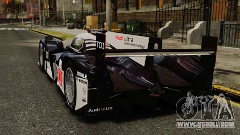 Audi R18 TDI v2.0 for GTA 4 back left view