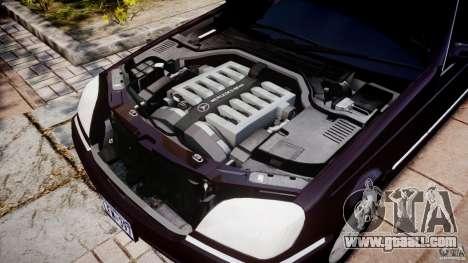 Mercedes-Benz 600SEC C140 1992 v1.0 for GTA 4 inner view