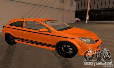 Opel Astra GTS for GTA San Andreas side view