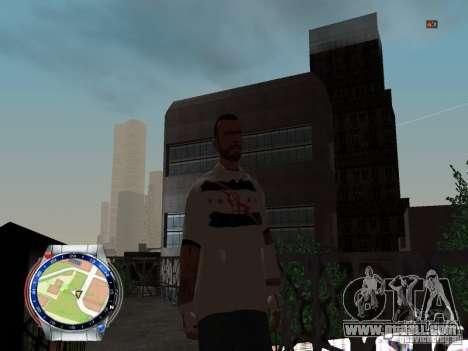 CM PUNK 2011 attaer for GTA San Andreas