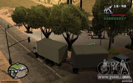 Active dashboard 3.1 for GTA San Andreas forth screenshot