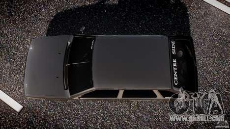 VAZ Lada 2109 for GTA 4 upper view
