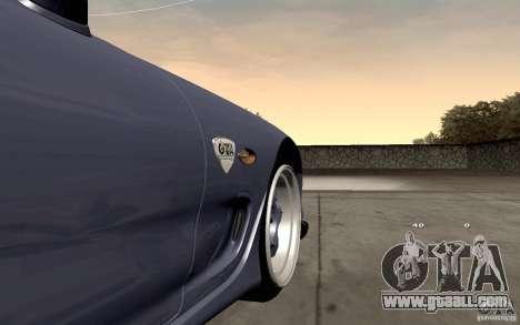 Mazda RX-7 Hellalush for GTA San Andreas inner view