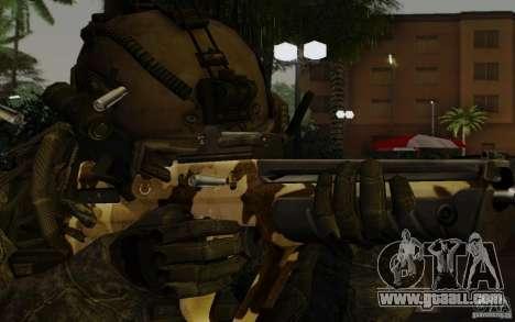 Tavor Tar-21 Camodesert for GTA San Andreas third screenshot