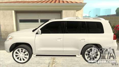 Lexus LX 570 for GTA San Andreas left view