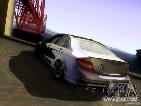 Mercedes-Benz C36 AMG for GTA San Andreas left view