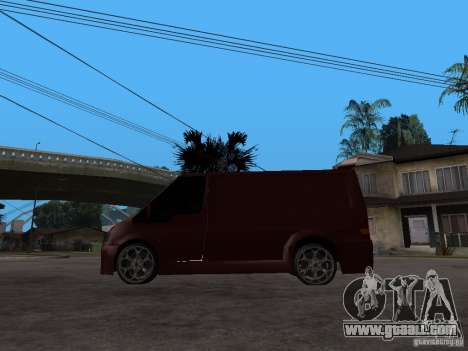Ford Transit Tuning for GTA San Andreas left view