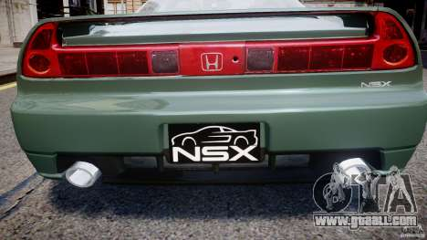 Honda NSX NA2 [Beta] for GTA 4 engine