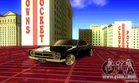 Nissan Skyline 2000-GTR for GTA San Andreas