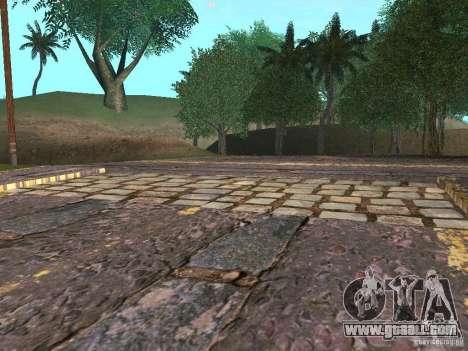 New roads in Vajnvude for GTA San Andreas sixth screenshot