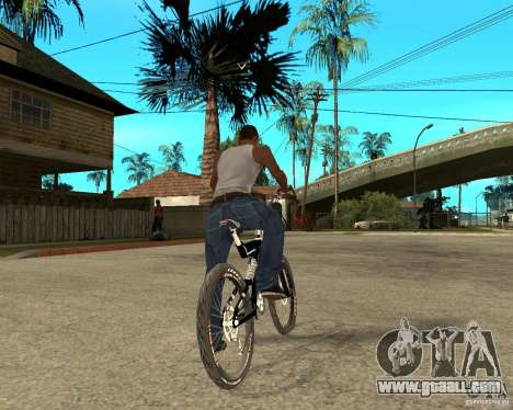Diamondback strike Beta for GTA San Andreas back left view