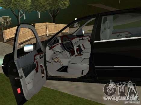 Mercedes-Benz S600 Biturbo 2003 v2 for GTA San Andreas back view