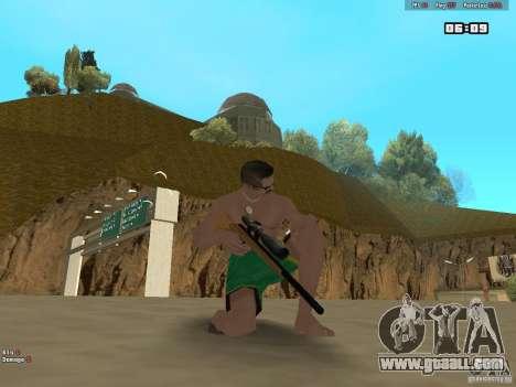 Weapon Pack V1.0 for GTA San Andreas third screenshot