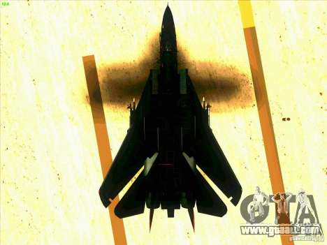 F-14 Tomcat Razgriz for GTA San Andreas interior