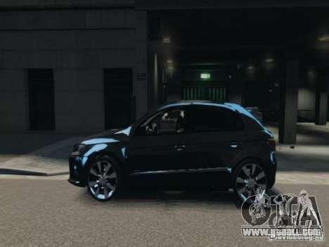 Volkswagen Gol G6 for GTA 4 left view