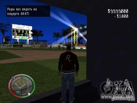 Concert of the AK-47 v2 for GTA San Andreas second screenshot