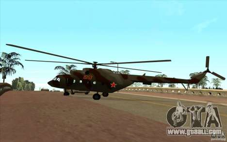 MI-17 Military for GTA San Andreas