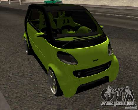 Smart Alienware for GTA San Andreas right view